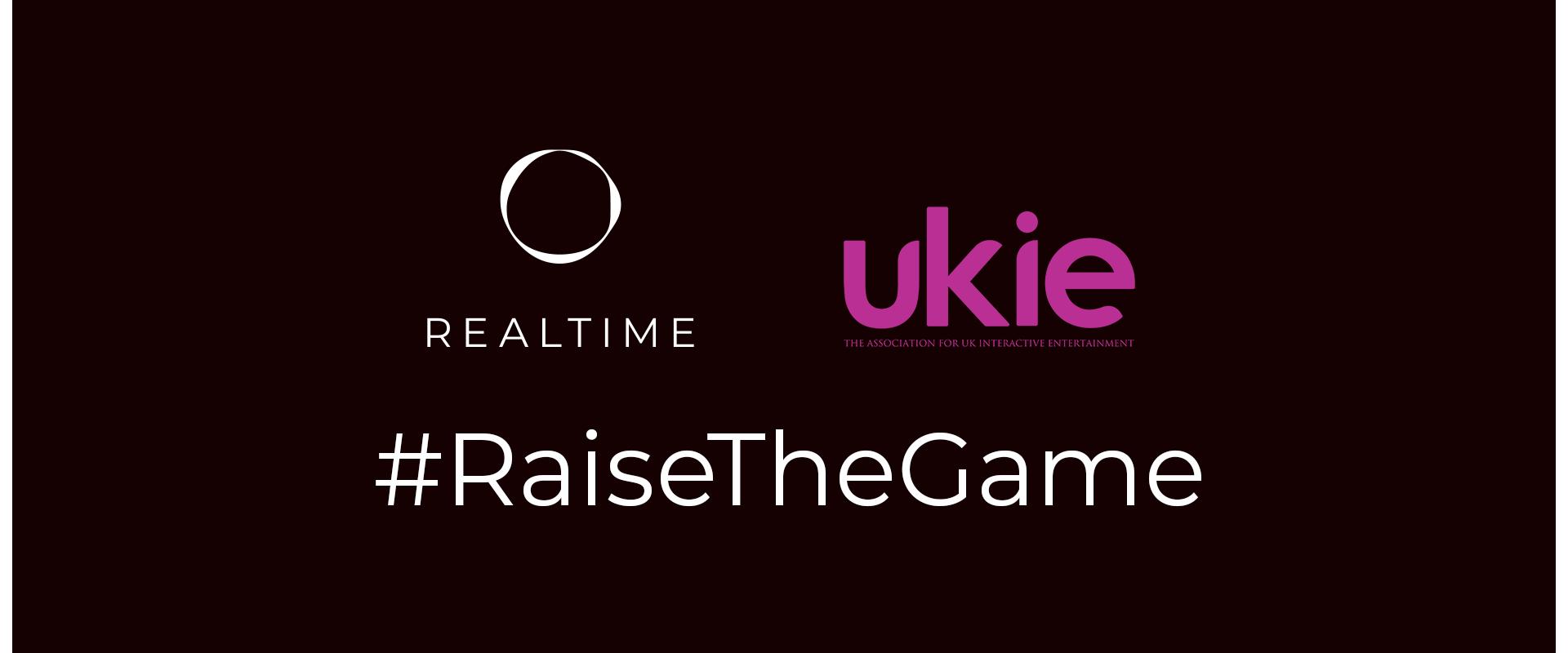 REALTIME team up with Ukie to #RaiseTheGame on diversity
