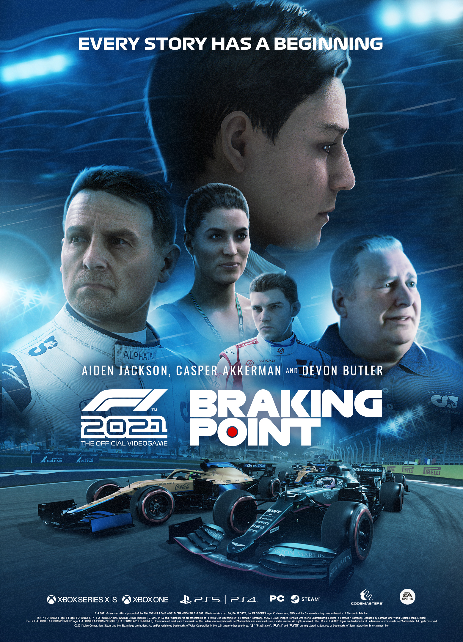 REALTIME team up with Codemasters for F1 2021 'Braking Point'